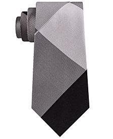 Kenneth Cole Reaction Men's Tom Plaid Silk Tie