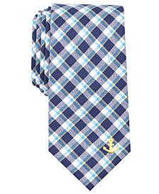Nautica Men's Naval Plaid Tie