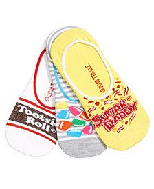 Women's 3-Pk. Candy Liner Socks
