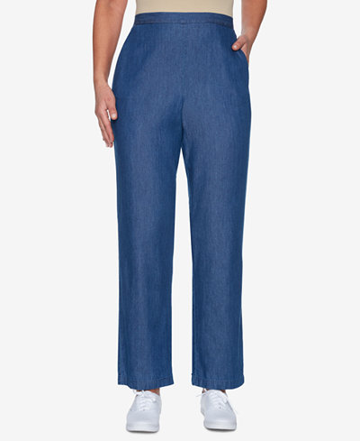 Alfred Dunner Proportion Pull-On Pants