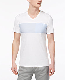 Calvin Klein Men's Wide Stripe T-Shirt