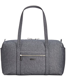 Vera Bradley Iconic Denim Travel Duffle