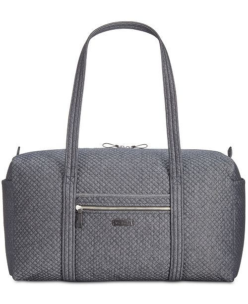 7cdc81f0b8 Vera Bradley Iconic Denim Travel Duffle   Reviews - Handbags ...