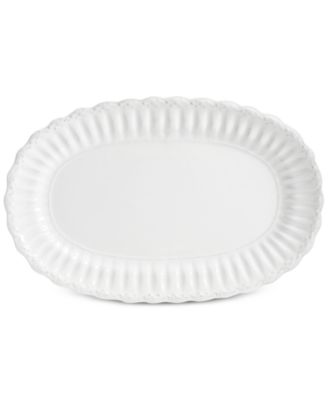 Madeira White Serving Platter