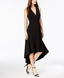 Calvin Klein High-Low Gown
