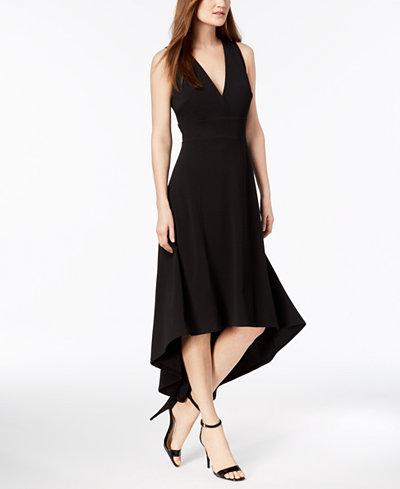 Calvin Klein High-Low Gown