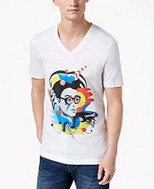 A|X Armani Exchange Men's Valentina Brostean Street Art T-Shirt