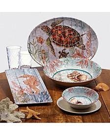 Sanibel Melamine Dinnerware Collection
