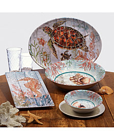 Certified International Sanibel Melamine Dinnerware Collection
