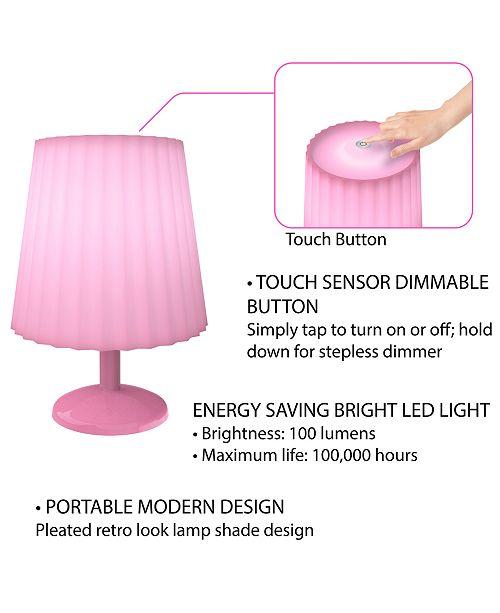 Lavish Home Touch Sensor Table Lamp - Lighting & Lamps - Home - Macy\'s