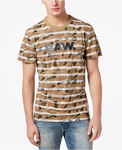 de75739d59 ... G-Star Raw G-Star Men s Swando Camo-Stripe T-Shirt