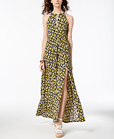 MICHAEL Michael Kors Floral-Print Maxi Dress, Created for Macy's