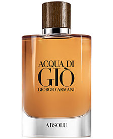 Giorgio Armani Men's Acqua di Giò Absolu Fragrance Collection
