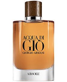 Giorgio Armani Men's Acqua di Giò Absolu Fragrance Collection