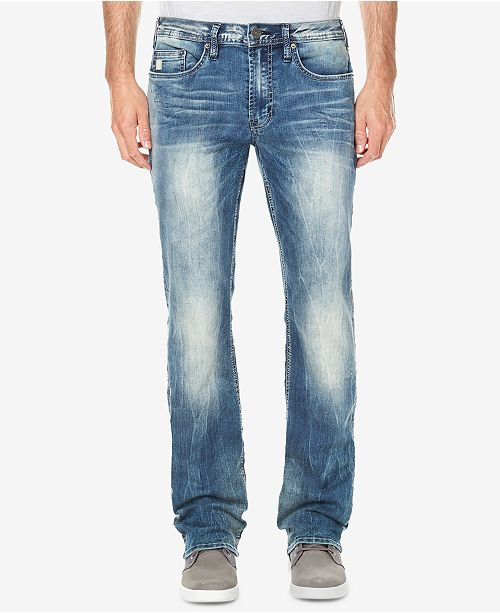 Buffalo David Bitton Men's Relaxed Straight Fit Driven-X Jeans