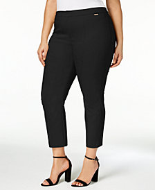 Charter Club Plus Size Skinny Ankle Pants, Created for Macy's