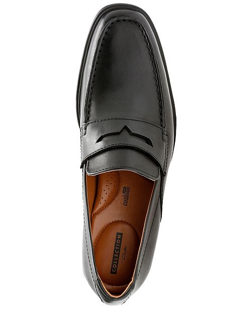 5e5029467bb Clarks Men s Tilden Way Leather Penny Loafers   Reviews - All Men s ...