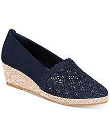 Karen Scott Tashaa Platform Espadrille Wedges, Created For Macy's