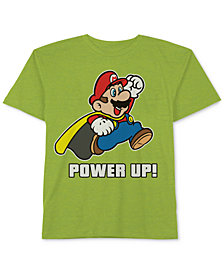 Nintendo Mario Graphic-Print T-Shirt, Little Boys