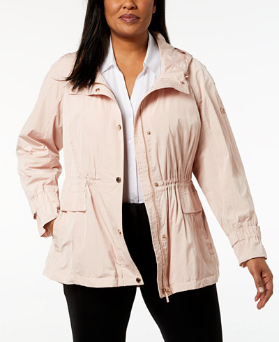 Calvin Klein Plus Size Utility Jacket