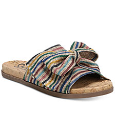 Circus by Sam Edelman Ninette Knotted Slide Sandals