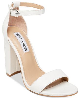 Steve Madden Women S Carrson Ankle Strap Dress Sandals