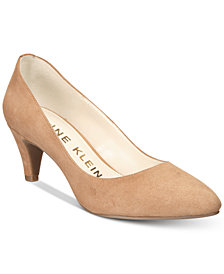Anne Klein Rosalie Kitten-Heel Pumps