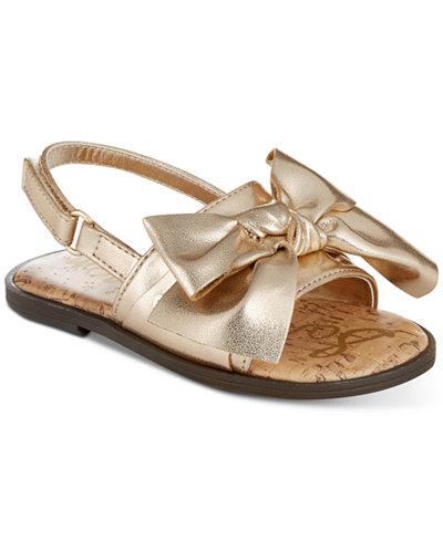 Sam Edelman Gigi Bow-T Sandals, Toddler Girls