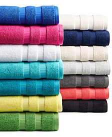 kate spade new york Chattam Stripe Bath Towel Collection, 100% cotton
