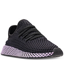 adidas Women's Deerupt Runner Casual Sneakers from Finish Line