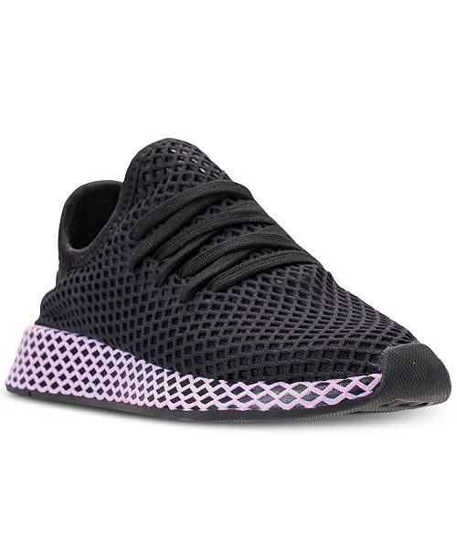 cb1f411e5 adidas Women s Deerupt Runner Casual Sneakers from Finish Line ...