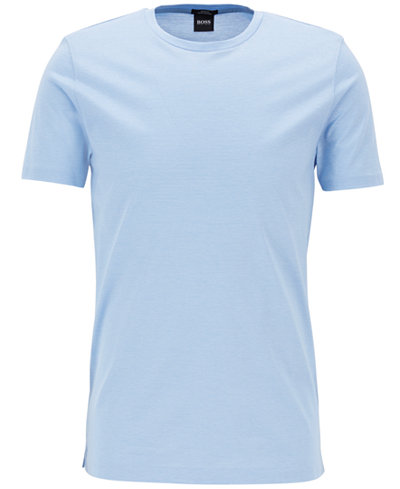 BOSS Men's Mercerized Cotton T-Shirt