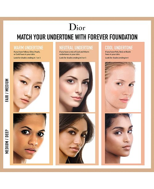 d344feeb37 Diorskin Forever Undercover 24H Full Coverage Foundation