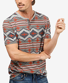 Lucky Brand Men's Graphic-Print Henley