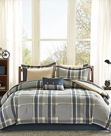 Robbie 9-Pc. Full Comforter Set