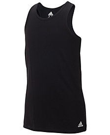 adidas Logo-Print Tank Top, Little Girls