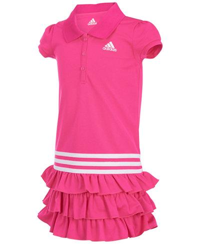 adidas Ruffled Polo Dress, Little Girls