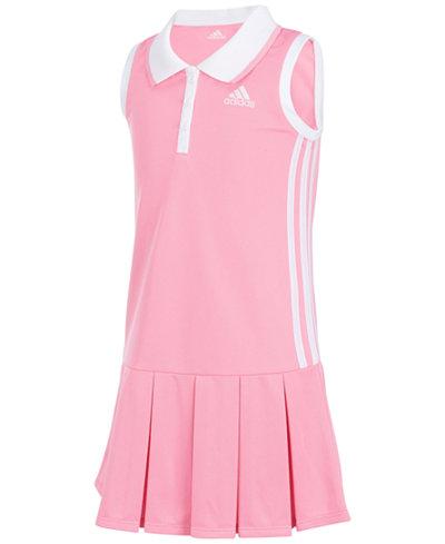 adidas Twirl Polo Dress, Little Girls