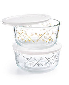 Pyrex 4-Pc. Arrow Storage Set
