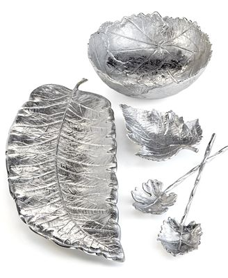 CLOSEOUT! Martha Stewart Collection Serveware, Park Leaves Collection