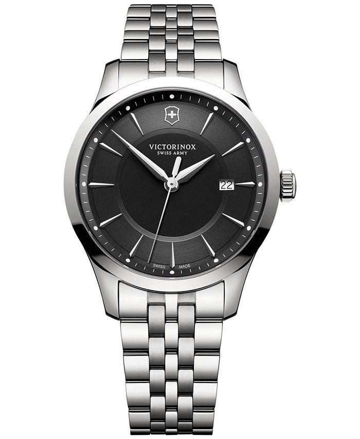 Victorinox Swiss Army - Men's Swiss Alliance Stainless Steel Bracelet Watch 40mm