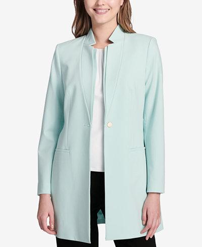 Calvin Klein Star-Collar Topper Jacket