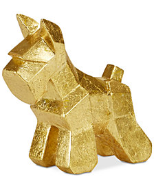 Madison Park Scottish Terrier Small Gold Figurine