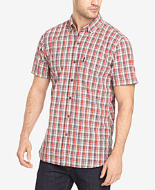 G.H. Bass & Co. Men's Summit Creek Plaid Seersucker Shirt