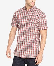 G.H. Bass & Co. Men's Summit Creek Plaid Seersucker Shirt
