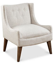 Macy Accent Chair, Quick Ship