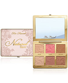 Too Faced Natural Face Highlight, Blush, and Bronzing Veil Face Palette
