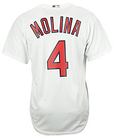 Majestic Men's Yadier Molina St. Louis Cardinals Player Replica Cool Base 3XL-6XL Jersey
