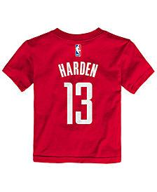 Nike James Harden Houston Rockets Replica Name & Number T-Shirt, Toddler Boys (2T-4T)