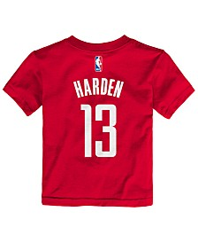 Nike James Harden Houston Rockets Replica Name & Number T-Shirt, Toddler Boys (2T-4T)